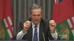 Coronavirus: Pallister delivers emotional plea to Manitobans not to gather during Christmas (03:52)