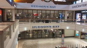 Hudson's Bay in Coquitlam shuttered by landlord over alleged unpaid rent (02:11)
