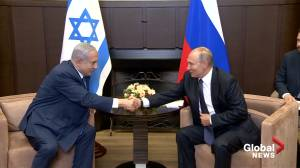 Netanyahu denies claims Israel spied on U.S. ahead of Putin meeting