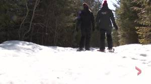 """Maybe call this one """"snow-ga"""": You can now try a snowshoe yoga class"""