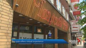 Coronavirus: Toronto pub offers virtual meeting space
