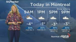 Global News Morning weather forecast: February 11, 2020