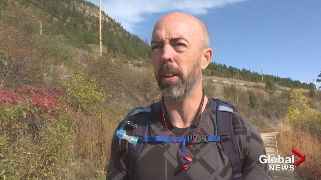 Okanagan Mountie walking 60 hours for first responder PTSD awareness