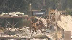 B.C. wildfires: Monte Lake residents return to devastation (02:37)