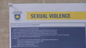 Lethbridge students among those advocating for provincial sexual violence policy (02:01)