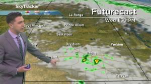 Chance of showers: August 25 Saskatchewan weather outlook