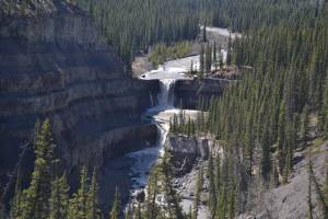 3 family members dead after being swept under waterfall west of Nordegg