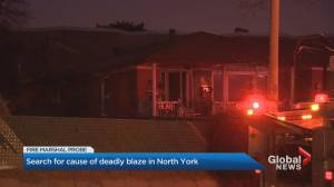 54-year-old man dead after fire in North York home (02:06)