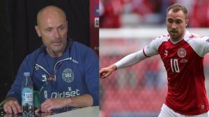 'He was gone': Denmark's Christian Eriksen suffered cardiac arrest, but tests normal doctor says (04:58)