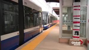 Valley Line LRT begins train testing begins in southeast Edmonton (02:00)