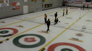 Curling through COVID: gameplay and traffic flow video