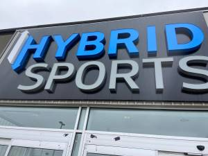 Hybrid Sports complex is ready to go (02:07)
