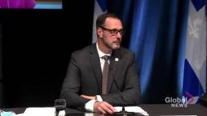 Quebec officials explain decision to eliminate classroom bubbles amid Delta variant spread (01:35)