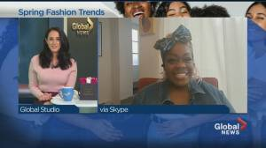 Spring and summer fashion trends (03:42)