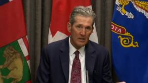 Manitoba to continue focusing on addictions, mental health amid COVID-19 pandemic: Pallister (01:12)