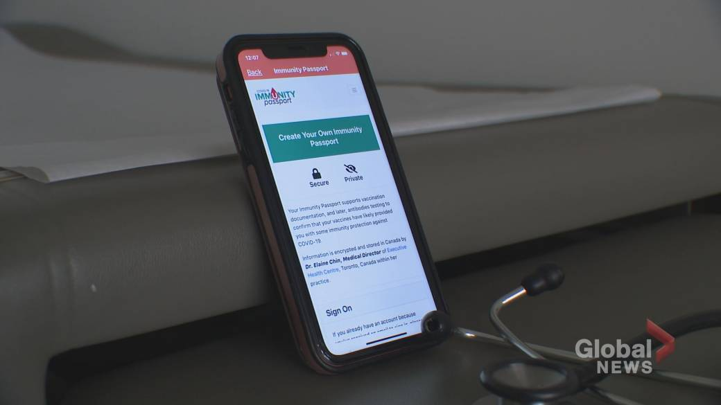 Click to play video 'Toronto doctor launches COVID-19 immunity app'