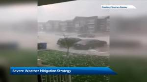 Severe weather mitigation strategy on the agenda at Calgary council Tuesday (02:17)
