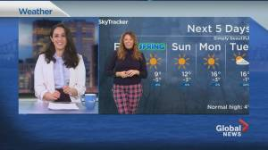 Global News Morning weather forecast: March 19, 2021 (02:35)