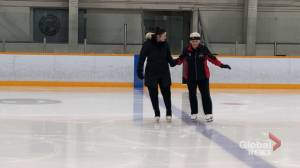 83-year-old NB figure skater returns from the 2020 Winter World Masters Games