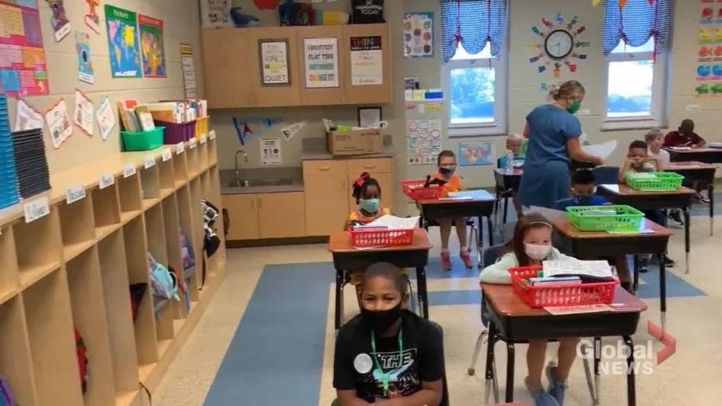 How to lessen anxiety, ease back-to-school transition for kids and parents  during COVID-19   Globalnews.ca