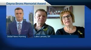 Award given in honour of former Humboldt Bronco Dayna Brons (04:09)