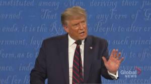 U.S. election 2020: Americans in Ontario watching final presidential debate (02:26)