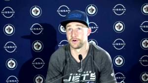 RAW: Winnipeg Jets Trevor Lewis Interview – Apr. 30 (03:33)