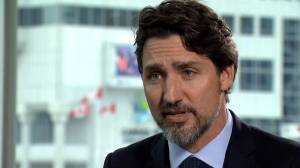 Justin Trudeau says 'tangible' questions remain on Iran plane crash (01:42)