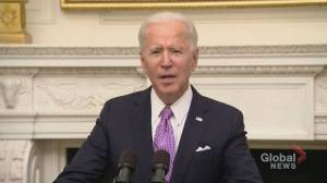 Coronavirus: Biden introduces COVID-19 testing requirement for air travellers entering the U.S. (00:37)