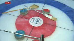 Celebrating Manitoba 150 at Ironman Outdoor Curling Bonspiel (03:19)