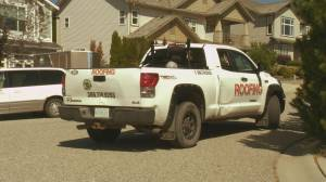 Dispute between roofing company, neighbour, escalates