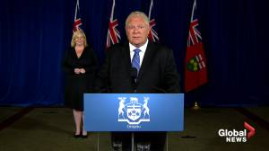 Coronavirus: Premier Ford says he'd like to see Ontario get 38 per cent of feds COVID-19 vaccine doses