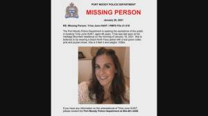 Volunteers search for missing Port Moody woman (02:11)
