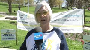 Defeat Depression campaign launches in Peterborough (02:24)