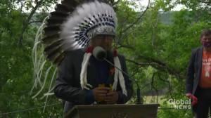 Enoch Cree Chief calls Alberta government grant a great step in reconciliation efforts (05:22)