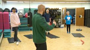 Boxing classes help improve quality of life for people living with Parkinson's disease