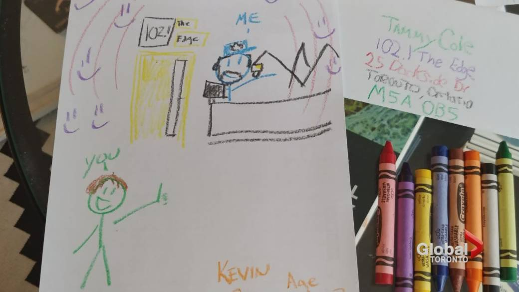 Crayon drawings included with resume help lead man to Toronto radio job