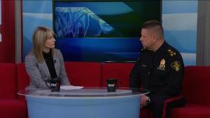 Saskatoon Police Chief Troy Cooper discusses crime trends in the beginning of 2020