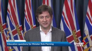 Education minister on new deal with B.C. teachers