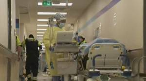 Ontario's record COVID-19 hospitalizations threatens health care system (02:17)