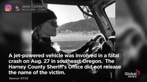 Jessi Combs, 'fastest woman on 4 wheels,' dies in land-speed record attempt