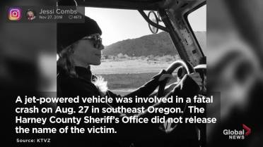 Jessi Combs, 'fastest woman on 4 wheels,' dies in land-speed
