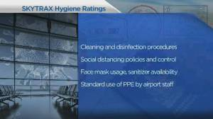 Skytrax develops new hygiene ranking system for airports (03:52)