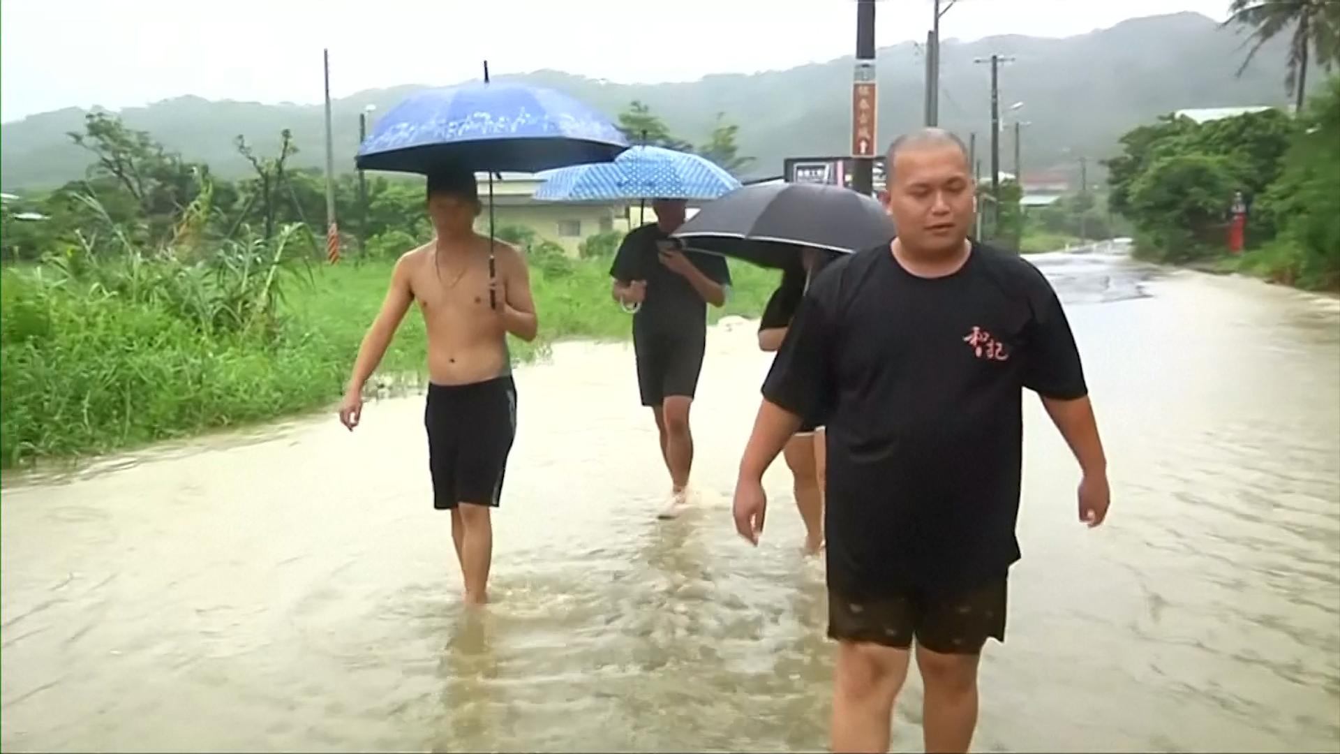 Typhoon Bailu wreaks havoc in Taiwan, East Asia News & Top Stories