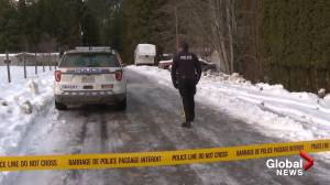 Fatal standoff near Salmon Arm, January 2020 (01:02)