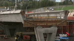 24-hour noise expected as Valley Line LRT bridge crews scramble to beat winter weather