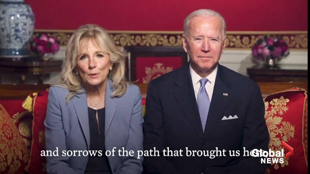 Click to play video 'President Biden speaks against racism against Asian Americans in Lunar New Year message'