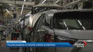 Toyota Canada prepares to resume manufacturing