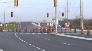 The decade long expansion project on Kingston's John Counter Boulevard is complete (01:39)