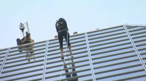 Easter Seals Drop Zone participants rappel their way to $60,000